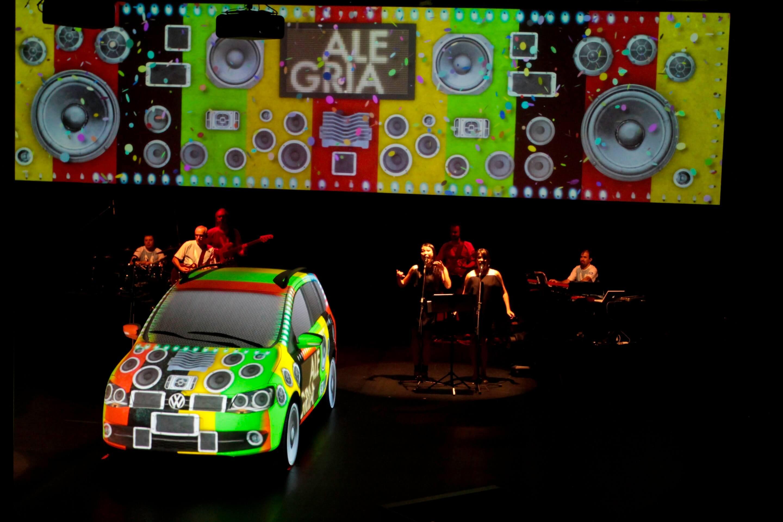VOLKSWAGEN SALÃO DO AUTOMÓVEL MAPPING 2010